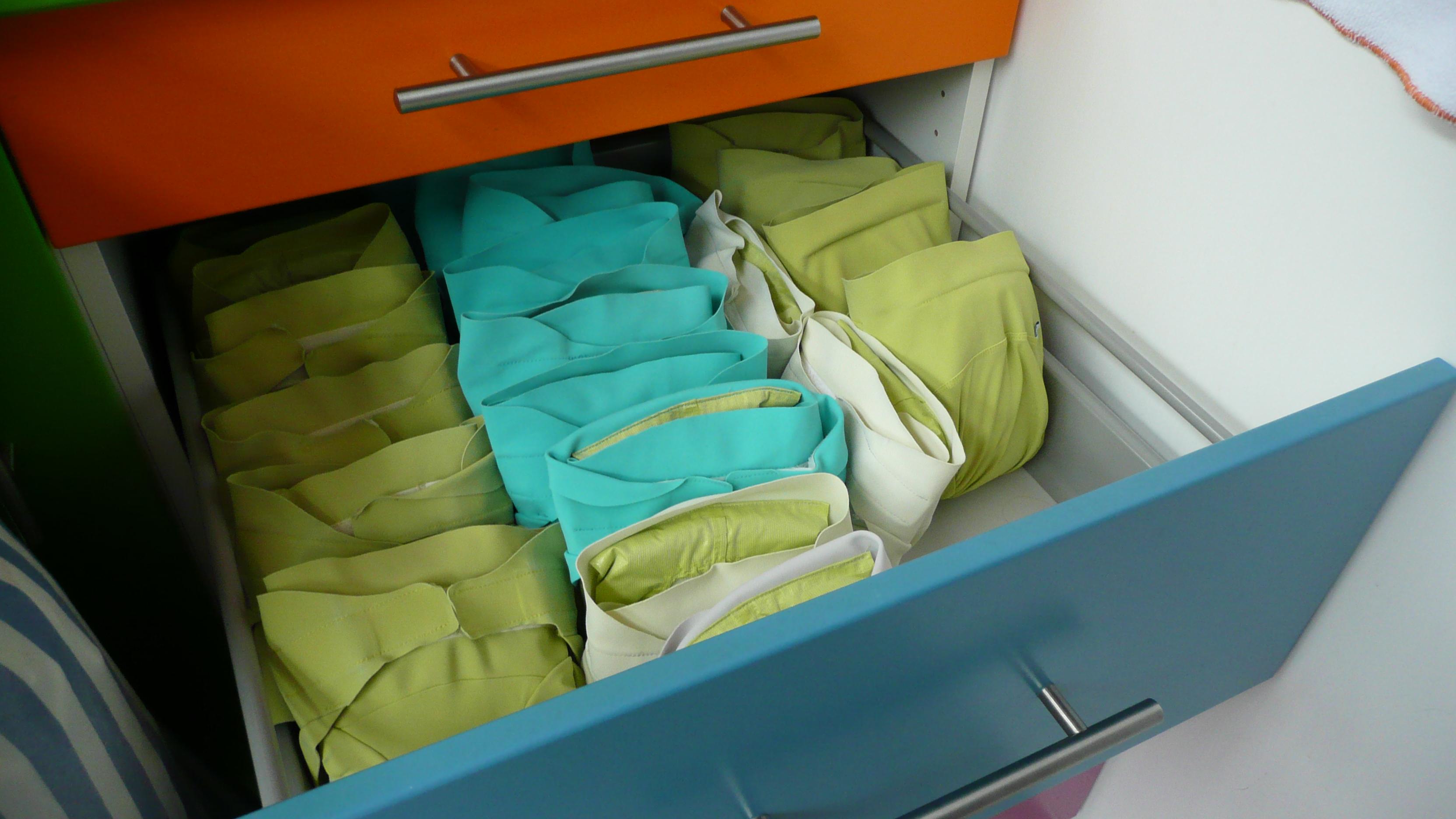 Les crèches en couches lavables Hamac on