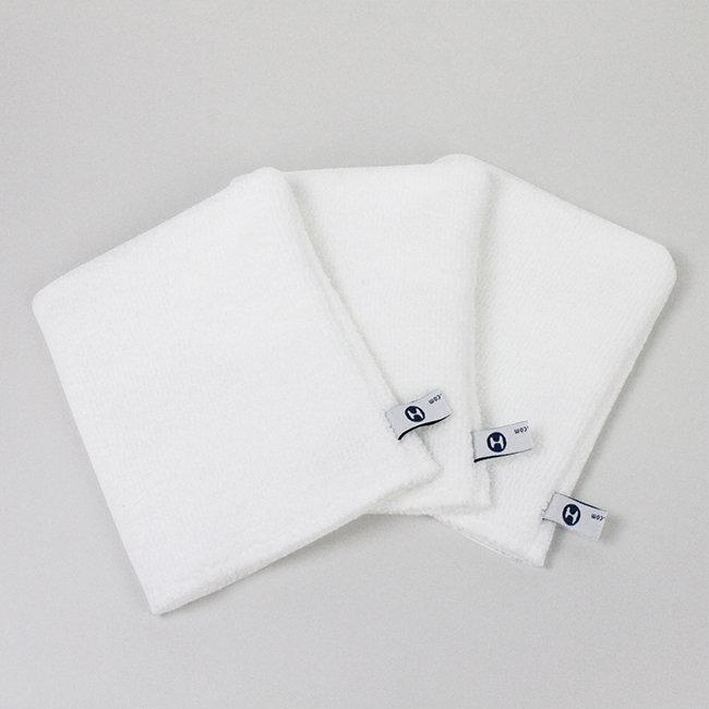 gants de toilette en microfibre pour le change b b. Black Bedroom Furniture Sets. Home Design Ideas