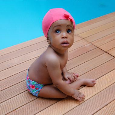 5cc3e169bca Le bonnet de bain bébé Hamac   protection anti-UV UPF50+